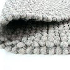 pebble rug dunelm grey pebble wool rug