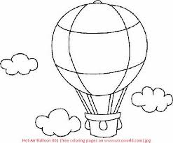 Small Picture hot air balloon coloring page Air Coloring Pages Hot air balloon