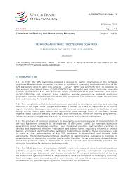 G/SPS/GEN/181/Add.11 8 October 2015 (15-5250) Page: 1/13 Committee on  Sanitary and Phytosanitary Measures Original: English TECH