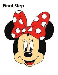 Small Picture How To Draw Mini Mouse Minnie Easy Step 6 1 000000185807 5png