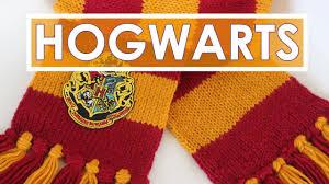 Harry Potter Scarf Knitting Pattern Simple Design