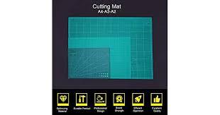 Walmeck <b>A2 A3 A4 Pvc Cutting Mat</b> Double-sided Self Healing ...