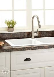 drop in kitchen sink. Made Of Granite Composite, This Drop-in Sink, From Signature Hardware, Is Drop In Kitchen Sink