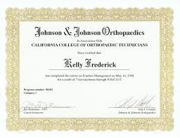Fresh Gallery Of Otc Certification Business Cards And Resume