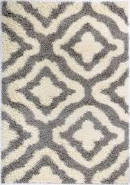 grey cream trellis area rug