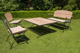 Table Et Banc De Jardin En Bois Luxe La Maison Du Jardin Salon De