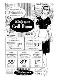 Walgreens Grill Room April 1969 1960 S Newspaper Vintage