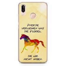 Premium Handyhülle Pferde Spruch Aus Silikon Pferd Sprüche