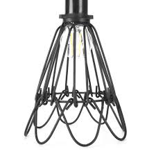 Urban Industrial Wire Cage Retro Lamp Guard For Pendant 12Vmonster