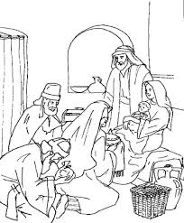 Small Picture Wise Men Worship Jesus Matthew 211 coloring page Childrens