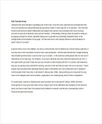 thesis statement for self perception essay self concept essays