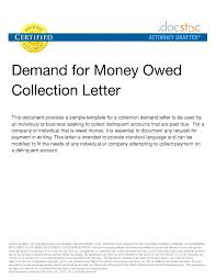 Legal Letter Template For Money Owed Business Proposal Examples