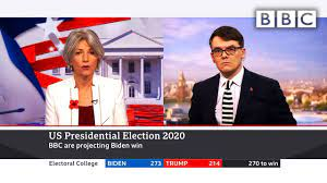 Breaking 🔴 Biden wins 👉 BBC projects White House victory 🇺🇸 US Election  @BBC News live - BBC - YouTube