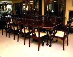 10 seater dining room table and chairs seat formal sets set for rectangle design large good