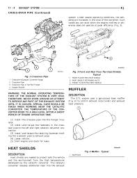 jeep liberty 2002 2005 exhaust system 4