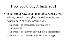 sociology chapter the sociological point of view ppt video how sociology affects you