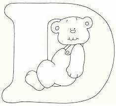 Disegni Alfabeto Orsetto Disegni Per Bambini Da Stampare E Colorare