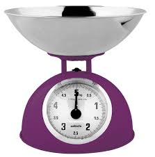 Small Kitchen Weighing Scales Sabichi Traditional Vintage Retro Kitchen Weighing Scales Bowl