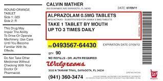 Prescription Label Template Pill Bottle Label Template Prescription Label Template Template