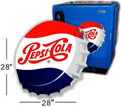 Pop Vending Machine Custom PC488 48 Angled Pepsi Cap For Soda Pop Vending Machine Cooler Or