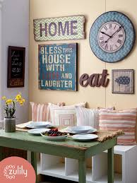 scripted kitchen wall decor