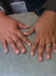 american french nails