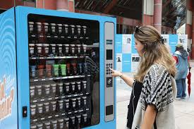 Medical Vending Machine Interesting Vending Machine Promotes Medical Cannabis As PainTreating