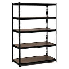 Stainless Steel Shelves Edsal 72 In H X 48 In W X 24 In D 5 Shelf Steel Commercial