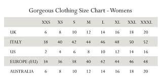 Women Size Chart Liliska Fashion Style