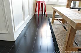 dark wood floor maintenance