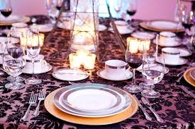 elegant table settings. Elegant Table Setting Melange Catering Demers Banquet Hall Settings N