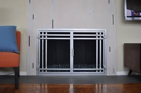 AMS Fireplace Doors Remodel Ideas contemporary-living-room