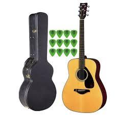 yamaha fg700s. yamaha fg700s solid top acoustic guitar with knox hardshell case fg700s