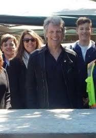 On march 2, 1962, in perth amboy, new jersey to parents john francis bongiovi, sr. Jon Dot And Kids Jon Bon Jovi Bon Jovi Always Bon Jovi