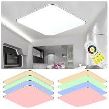 Wohnzimmer Lampe Panel Dimmbar Ultraslim Deckenlampe Led