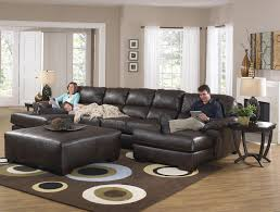 jackson furniture lawson two chaise sectional sofa with five seats