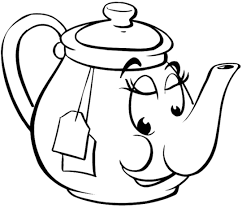 Small Picture Teapot Coloring Page Coloring Home