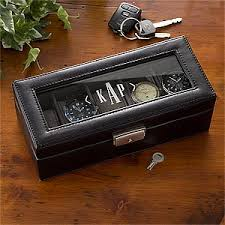 personalized men s accessories gift ideas personalization mall personalized monogram leather watch box 3901