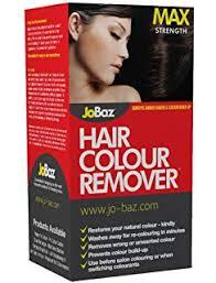 jobaz hair colour remover extra strength removes darker shades colour build up