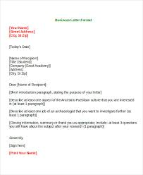 Formal Letter Templates - 65+ Free Word,pdf Document Download | Free ...