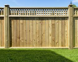fences with a greater amount of surface area such as solid panel fences require