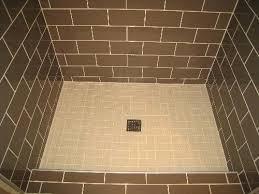 custom tile shower pans tile installation for this master bathroom custom shower tile installation involved s custom tile shower pans