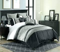 black and gray comforter sets and y bedding white comforter sets red blue navy grey black and gray comforter sets