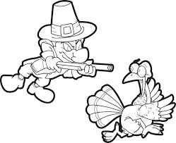 Thanksgiving Pilgrim And Indian Coloring Pages Girl Free Awesome Pin