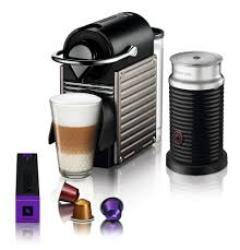 Nespresso U Machine Nespressor By Breville Pixie Espresso Maker Bundle With Aeroccino