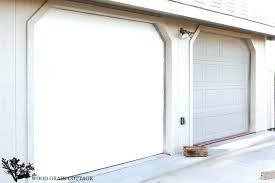 garage door trim small images of decorative aluminum capping install