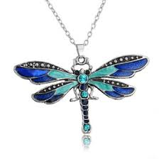 dragonfly gifts ping sweater chain dragonfly lady necklace accessories charm arts crafts wedding favors