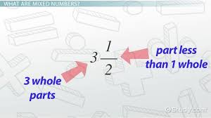 mixed numbers how to add subtract multiply divide lesson transcript study com