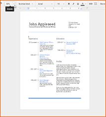 free resume templates doc template google docs drive regarding for ...