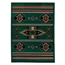 N Taj Mahal Hunter Green Area Rug